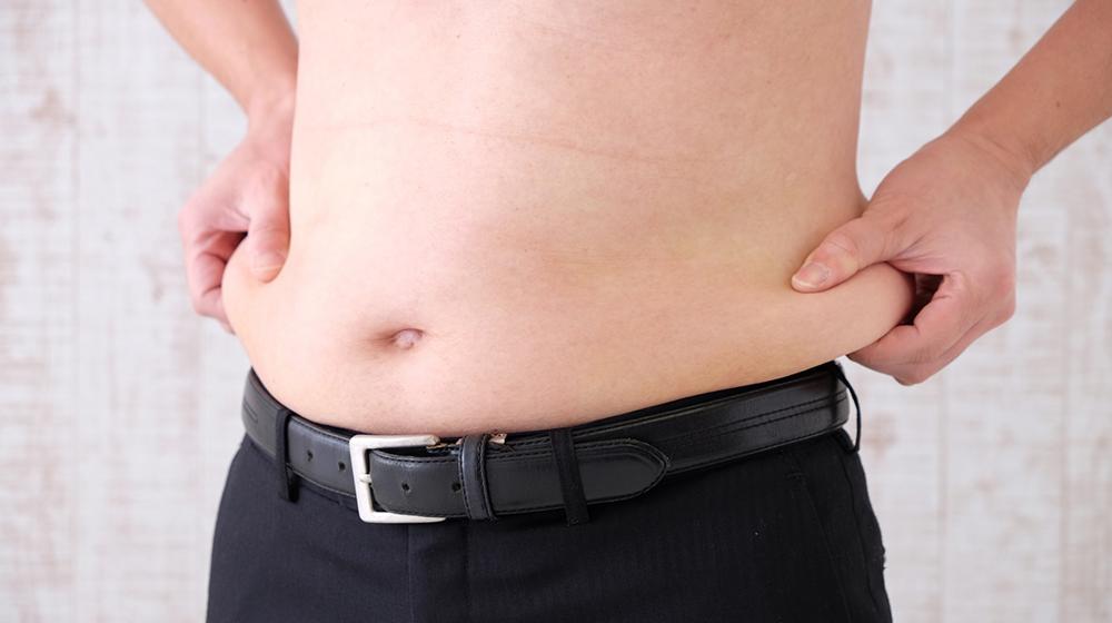 【男性】健康保険加入者における特定保健指導該当者と体重増加率